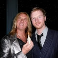 Joe Elliott & Phil Wilkinson. Def Leppard