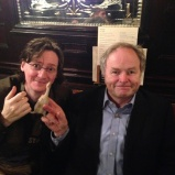 Ed Byrne and Clive Anderson