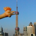 The Oriental Pearl Tower Shanghai 东方明珠塔