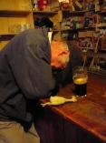 Mid Guinness nap
