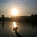 Silhouenlay on Thames