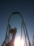 When it comes to rollercoasters I'm no chicken