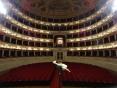 Inside Teatro Valli, Reggio Emilia, Italy